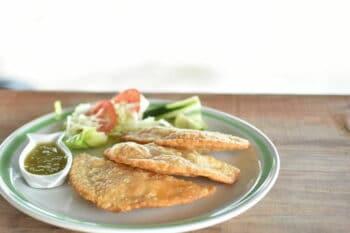 Tortillitas de camarones spanischer Snack / snackconnection