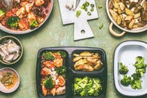 Gastro-Verpackungen-Lieferservice_Menüschale_Gemüse | snackconnection