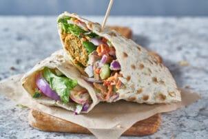 Falafel Dürüm vegan |snackconnection