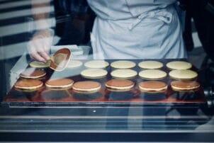 gefüllte Pancakes aus Japan / snackconnection