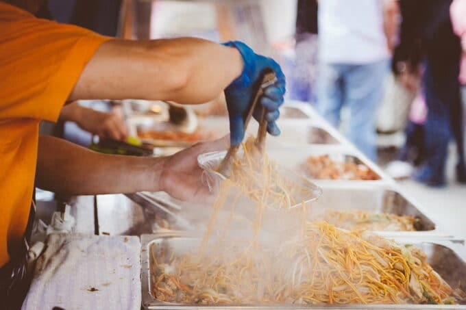 Nudel-Stand Streetfood / snackconnection