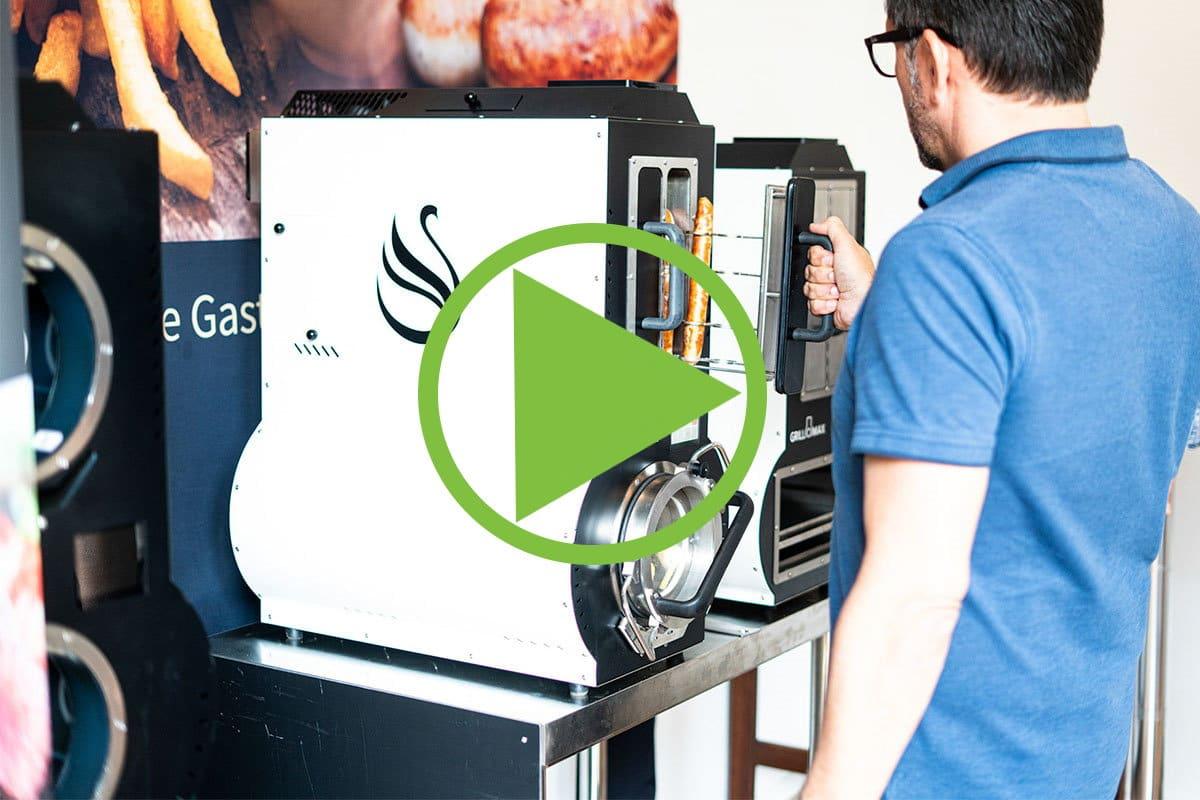 Gastrogerät Elite in Benutzung Video / snackconnection