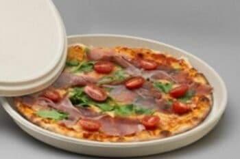 Pizza Box aus Bagasse