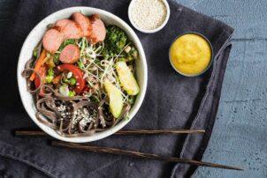 Currybowl mit Currysauce von Homann / snackconnection