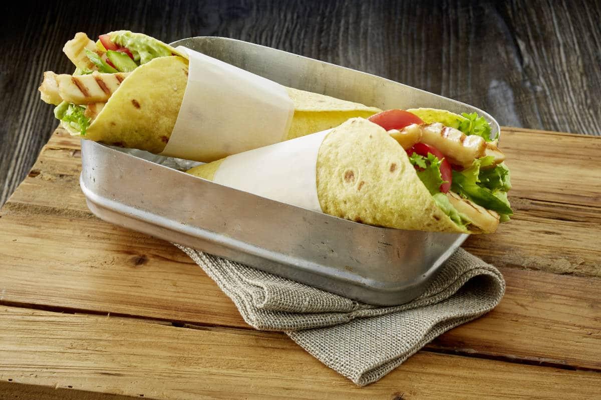 Wraps mit Grill-Käse von Alpenhain / snackconnection