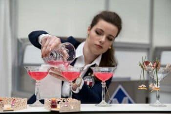 Intergastra 2018 Cocktailmeisterschaft rosa Cocktails / snackconnection