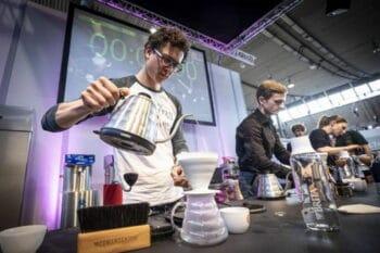 Intergastra 2020 Messehalle Kaffe und Getränke / snackconnection
