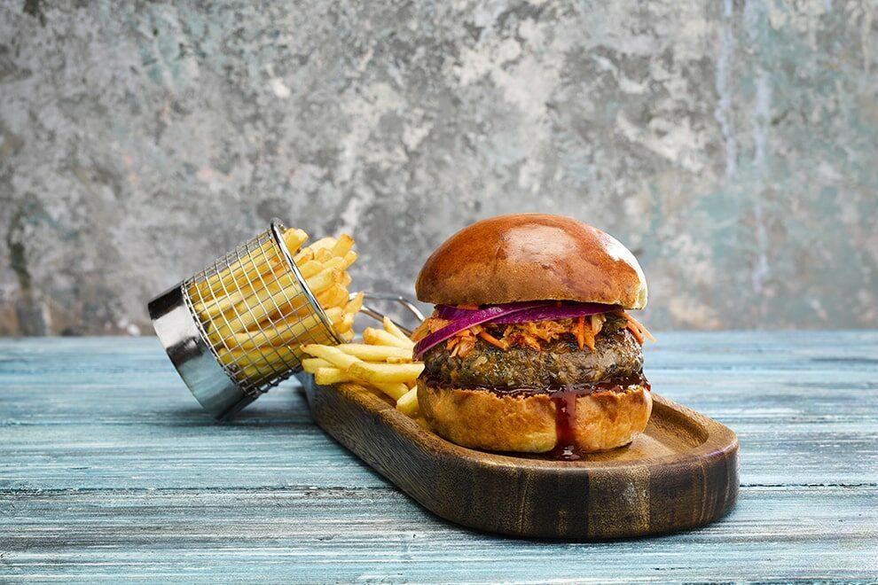 JackWOWeer veganer Burger