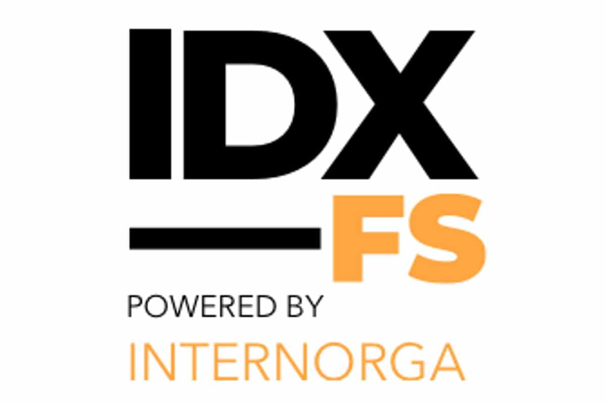 Logo IDX_FS powered by Internorga light / snackconnection