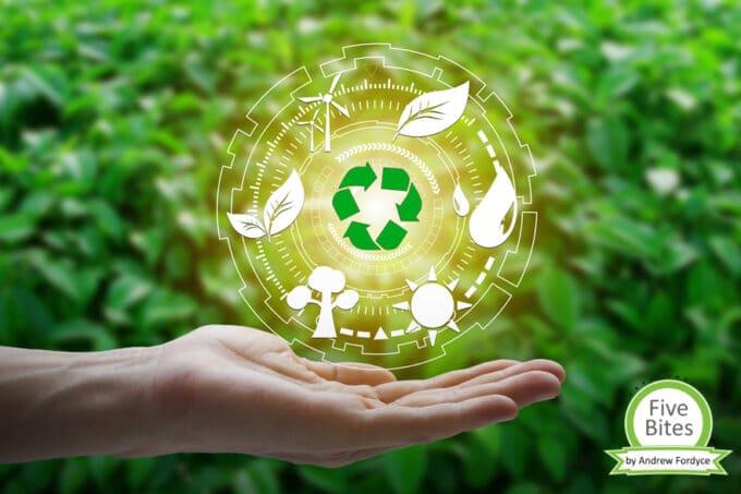 Nachhaltigkeit five bites | snacocnnection