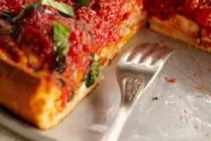 Tomatenquiche aufgeschnitten / snackconnection