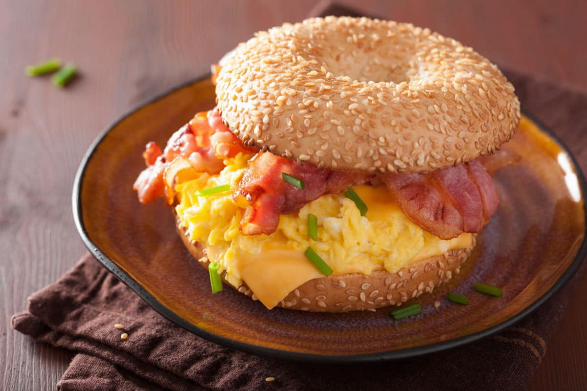 Bagel Bacon, Ei / snackconnection