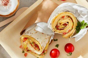 Käse Rührei Wrap Eipro | snackconnection