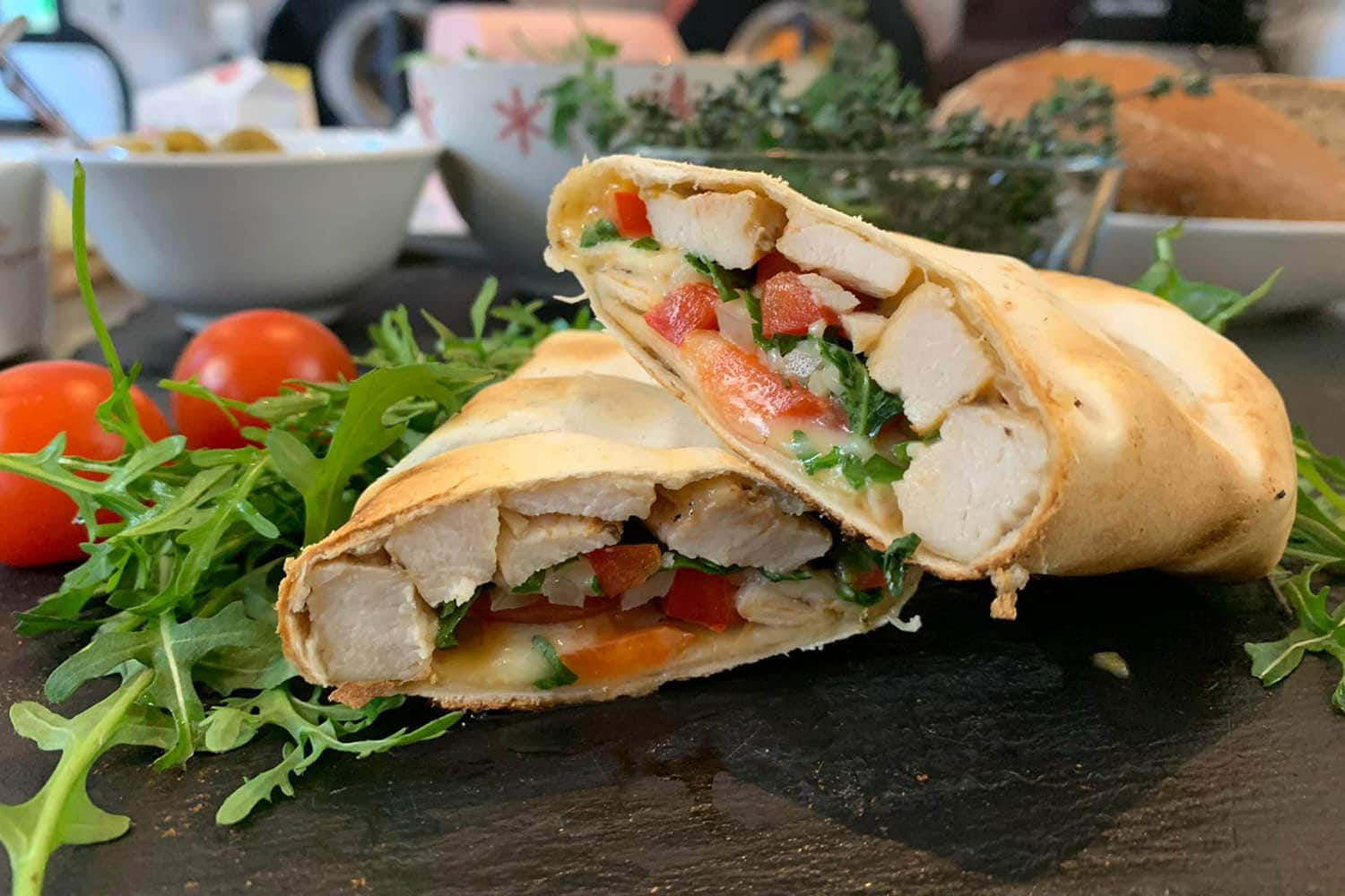 Chicken Wraps Grillomax Bakery   snackconnection