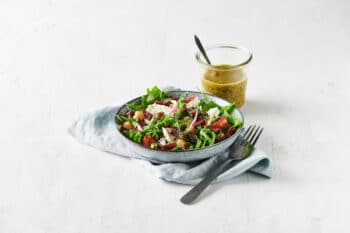 Salat mit Rote Beete Bacon