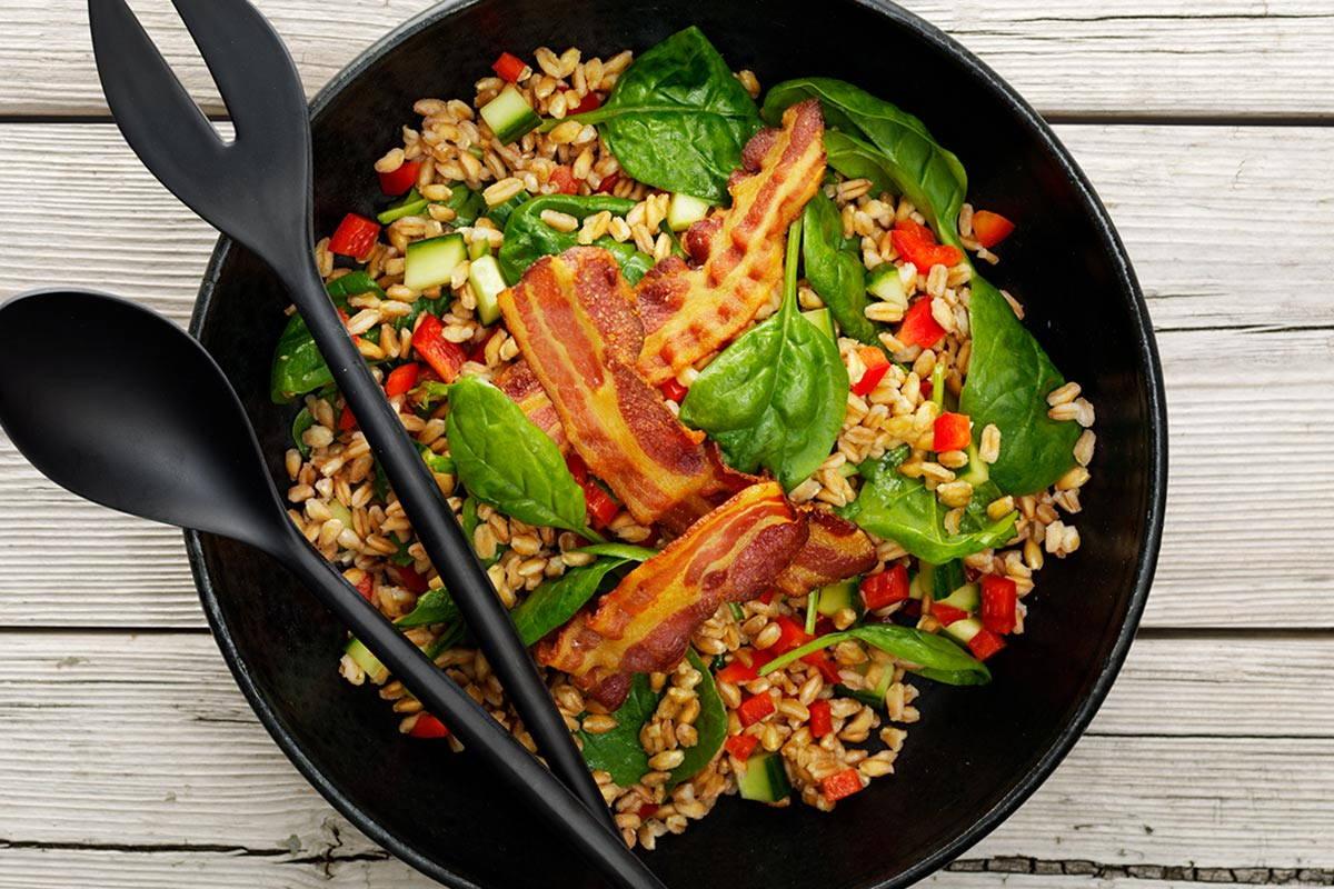Bacon-Salat-Bowl / snackconnection