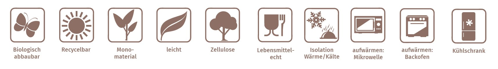 Messerle Icons Verpackungen