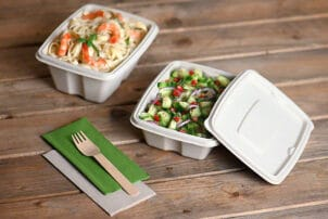 Nachhaltige Verpackung Schalen | snackconnection