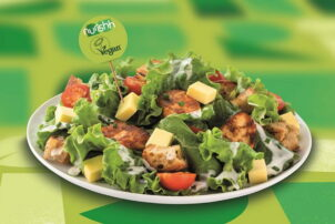 Veganer Caesar Salat | snackconnection