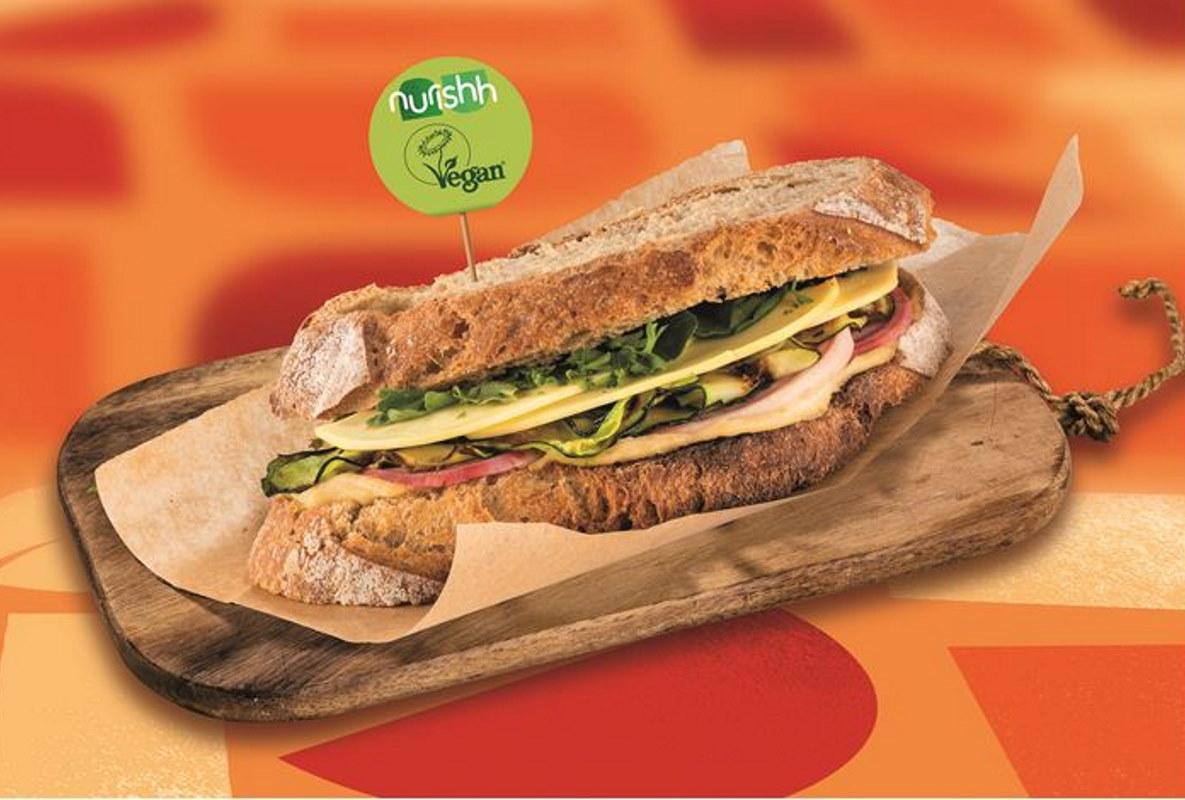 Veganes Käse-Sandwich | snackconnection