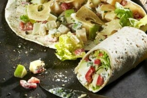 Vegane Wraps   snackconnection