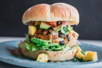 vegetarischer Burger | snackconnection