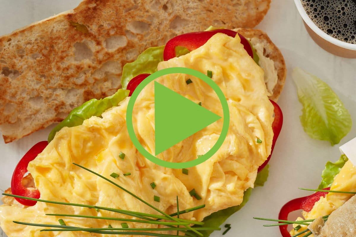 Video Rührei Frühstück | snackconnection