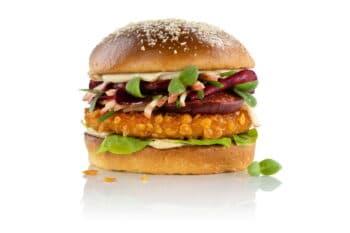 Veganer Chicken Burger | snackconnection