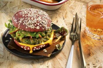 Veganer Burger Haferbasis | snackconnection