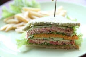 Veganes Tunfisch-Sandwich
