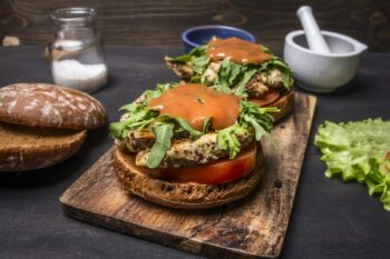 Currywurst Burger