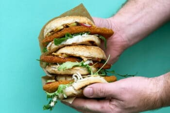 Veganer Burger | snackconnection