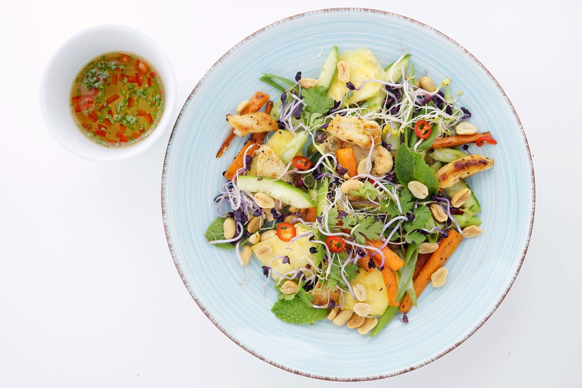 Thai Chicken Salat | snackconnection