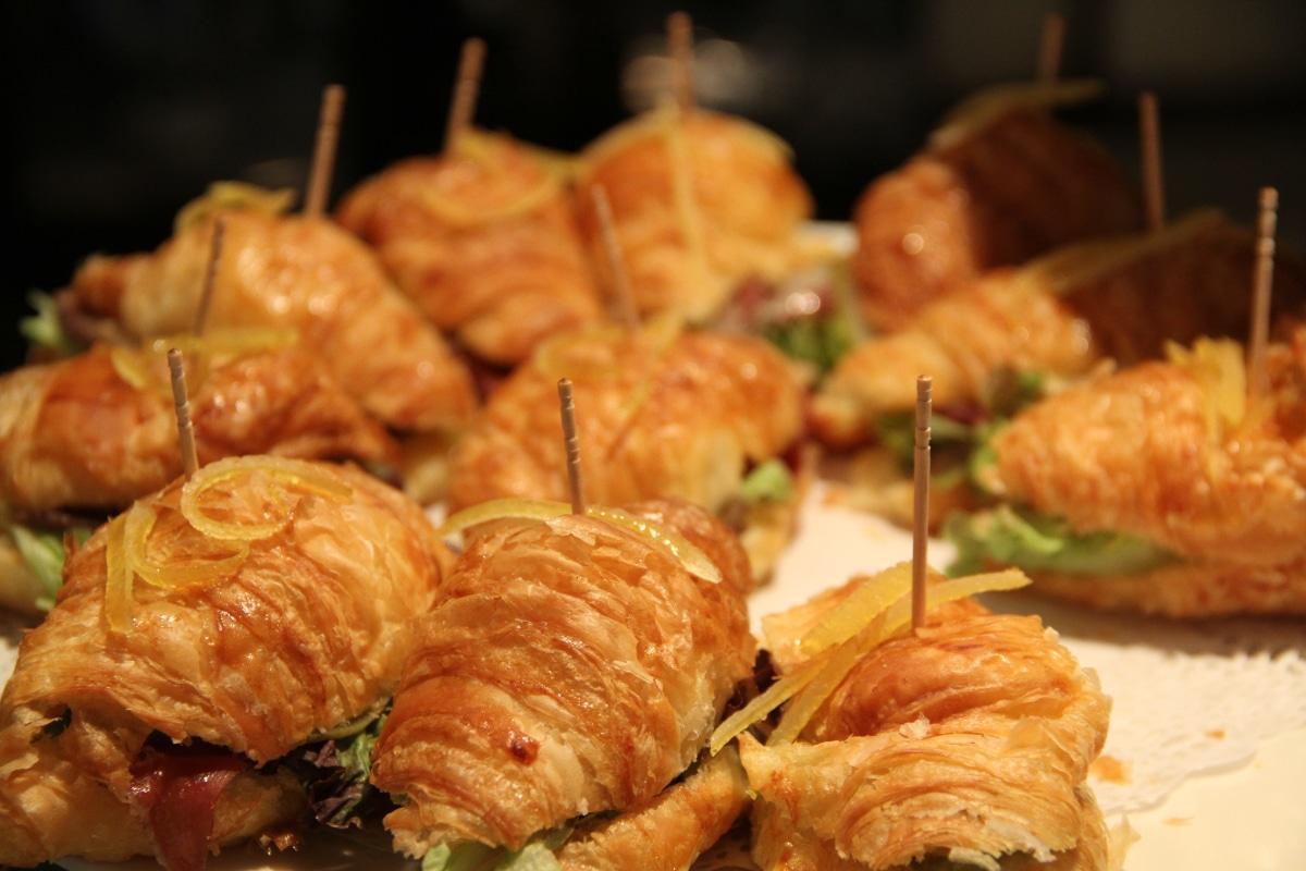 Belegte Mini Croissants