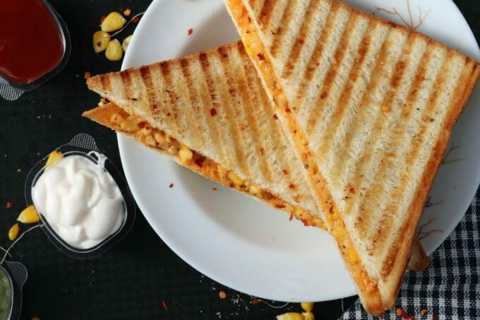 Sandwich mit Aufstrich   snackconnection