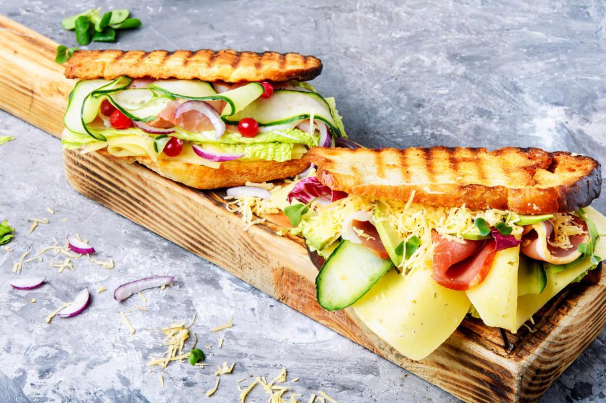 Gemüse Sandwich | snackconnection