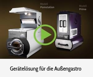 Video Reamotion Gastrogeräte für Außengastronomie