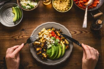 Bowl Essen vegetarisch vegan