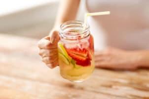 Fruchtbowle Glas