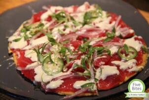 Pizza Vegetarisch Andrews five Bites