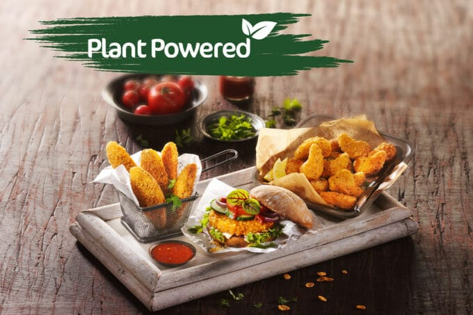 Vegane Pflanzliche Chicken Style Produkte Fingerfood