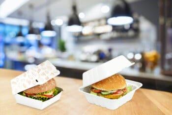 Burger Box To Go Verpackung