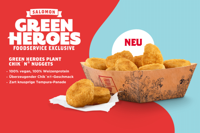 Green Hero vegane Chicken Nuggets