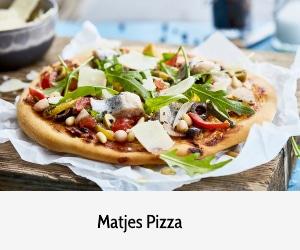 Banner Matjes Pizza Rezept