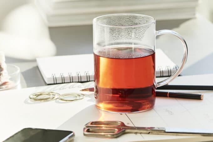 Teetasse Büro Homeoffice